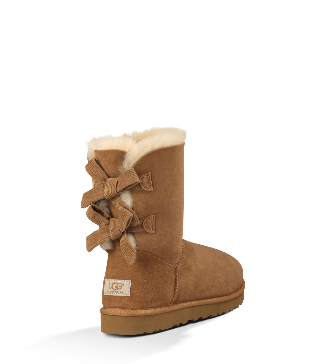 UGG • bailey bow corduroy boot (chocolate) Bailey Bow