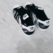 shoes,adidas,superstar,black,white,silver,marble