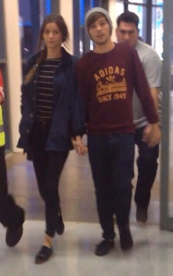 coat eleanor calder denim jacket jumper t-shirt stripes louis tomlinson one direction shirt sweater