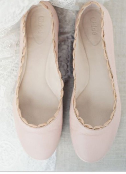 shoes light pink flats