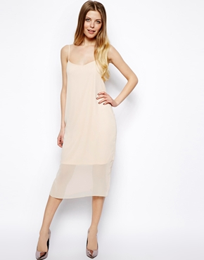 ASOS | ASOS Soft Chiffon Midi Cami Dress at ASOS