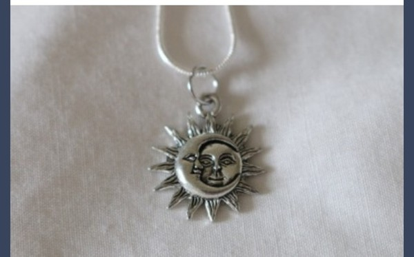 jewels moon and sun sun and moon necklace