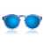 Leonard Light Blue Stripes with Blue Mirrored Lenses | illesteva