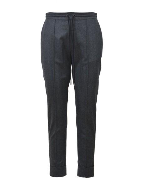Kenzo pants wool dark grey