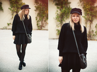 bag shoes sweater elenita hat skirt