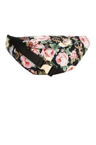 bag floral bag belt bag roses dollar flowers