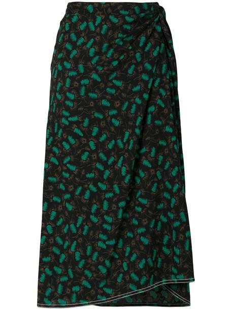 MARNI skirt draped skirt women draped black