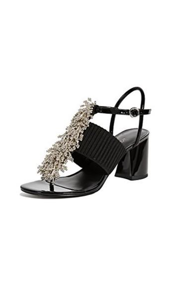 3.1 Phillip Lim beaded sandals black shoes