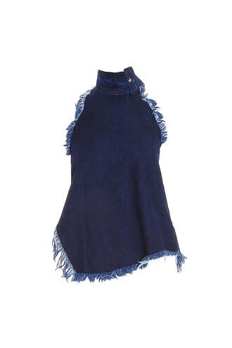top denim women blue