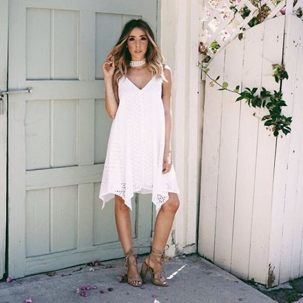 7a1ad6f7c27 dress white cute summer dressy day dress cocktails brunch wedding outfit  casual sexy flirty evening dress