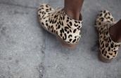 print,leopard print,shoes,ankle boots