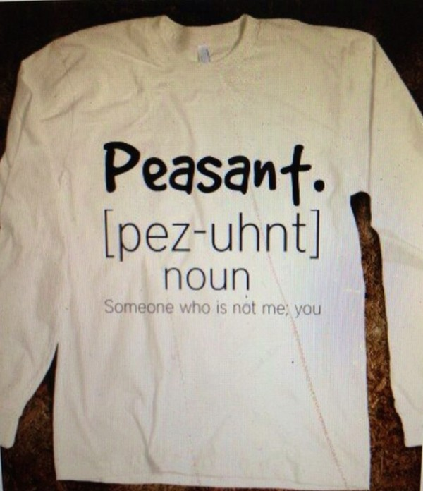 sweater shirt peasant white grey definition dictionary