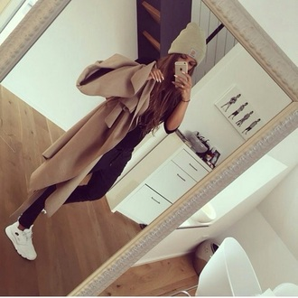 coat tumblr winter outfits cute