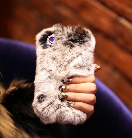 IPhone 5 Case Luxury Fur IPhone 5Ca..