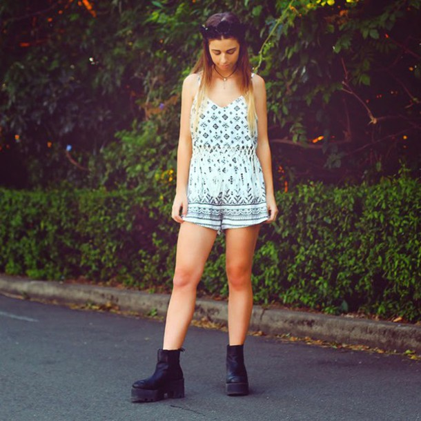 we the spies blogger romper shoes