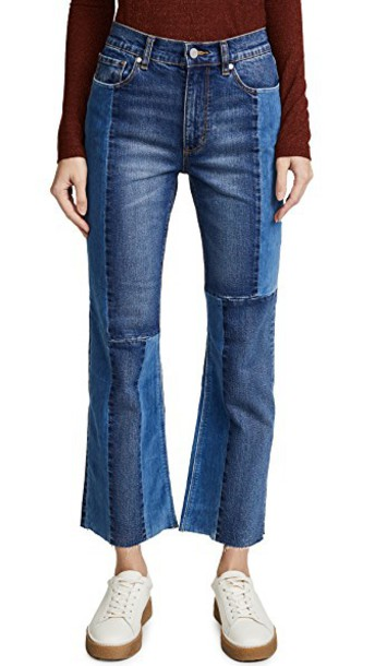 jeans denim velvet dark