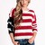 Lizabeth American Flag Sweater by John Galt - $102.00 : ThreadSence.com, Your Spot For Indie Clothing & Indie Urban Culture ($100-200) - Svpply
