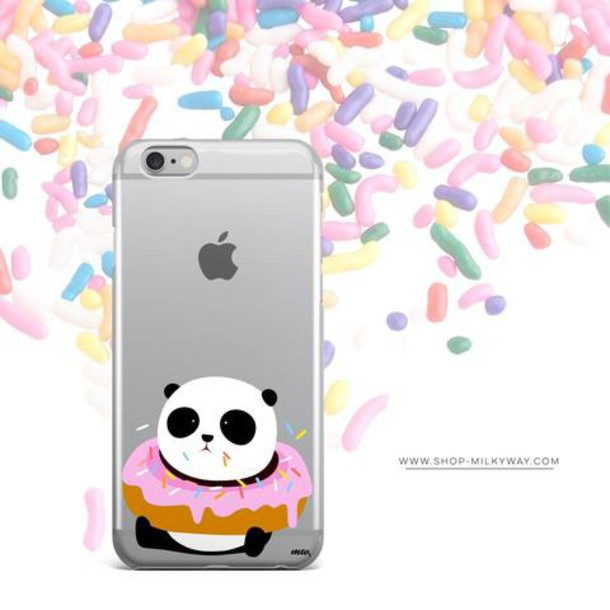 Milkyway Cases CLEAR TPU CASE COVER - PANDONUT