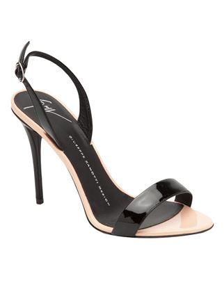 Giuseppe zanotti design slingback sandals