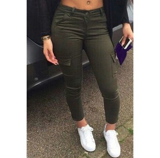 jeans pants olive green cargo pants style olive green jeans army cargos style me