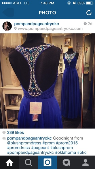 dress blue navy dress prom dress flowy dress sparkly dress navy blue dress prom gown