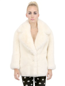 LUISAVIAROMA.COM - AMERICAN RETRO - MILLY FAUX FUR COAT