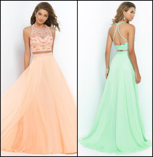 prom dress prom dress 2015 prom gowns 2015 evening dresses ! 2014 prom gowns two-piece