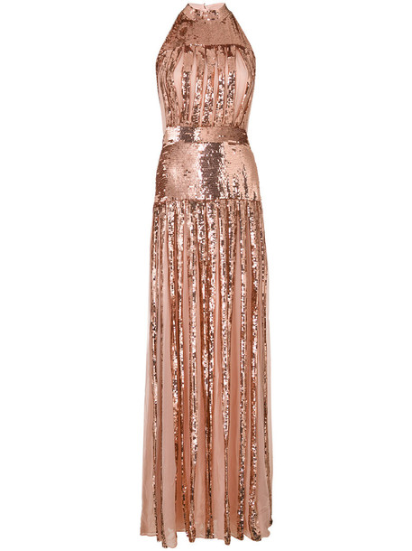 Temperley London gown women nude dress