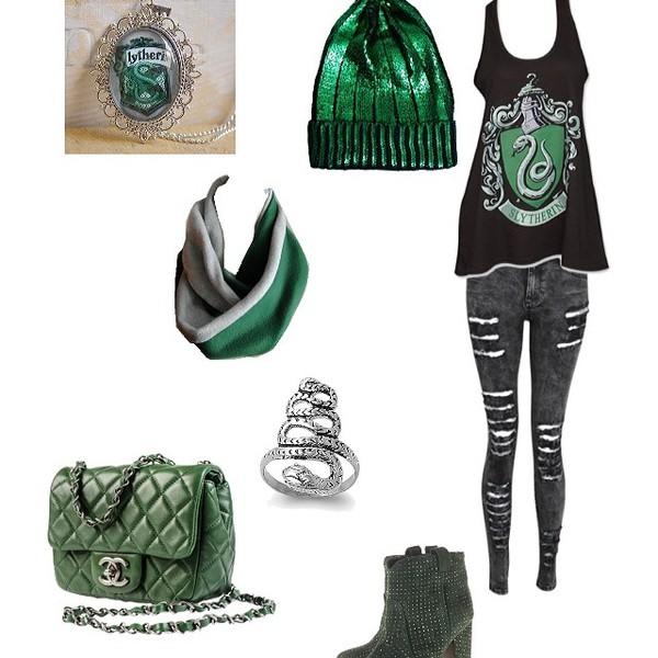 shirt harry potter slytherin green harry potter