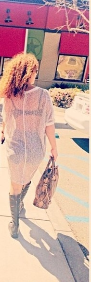 dress crystal westbrooks sheer knitted dress knitted mesh