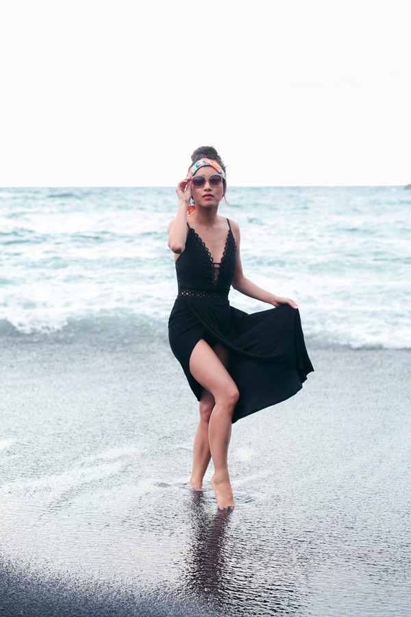 extra petite blogger swimwear sunglasses skirt maxi skirt cover up black swimwear one piece swimsuit