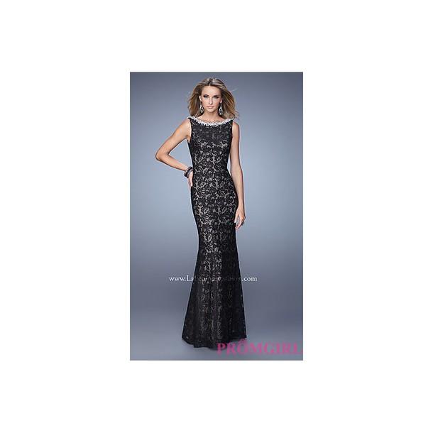 dress, floor length dress, bonny, black dress, prom dress, ralph ...