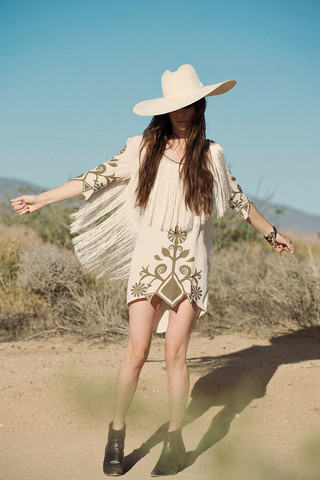 Wild Horses Dress - Oyster | Spell & the Gypsy Collective