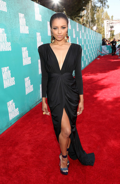 "Kat Graham – Ruthie Davis ""Dragon"" sandals"