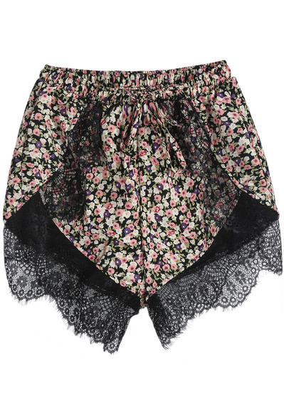 Floral Trima Shorts | Outfit Made