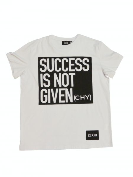 T-Shirt Success Is Not Given(chy) by EJXIII for sale on CLOVERFIELD CONCEPT STORE