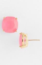 jewels,earrings,pink