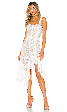 Bronx and Banco Tiffany Blanc Dress in White from Revolve.com