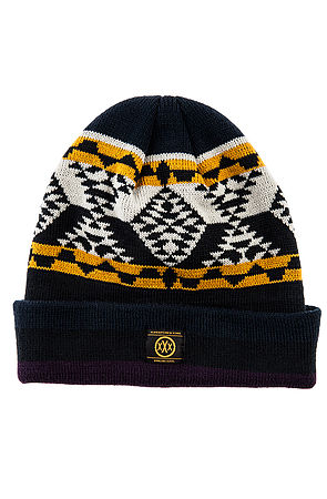 10 Deep Hat Native Knit Beanie in Blue -  Karmaloop.com