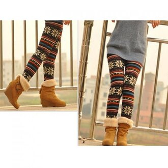 pants leggings winter outfits colorful cozy warm