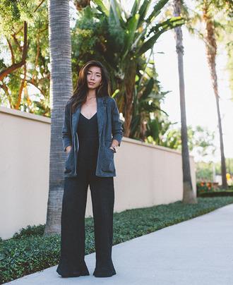 honey n silk blogger jumpsuit jacket cardigan jewels