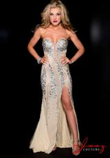 Jasz Couture Dress 4925 at Peaches Boutique