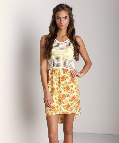 Tallow Sunflower Dress TSP12-200  at Largo Drive Underwear & Swimwear