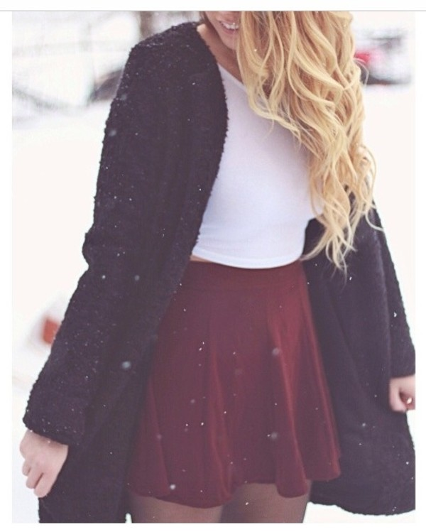 jacket skirt tank top