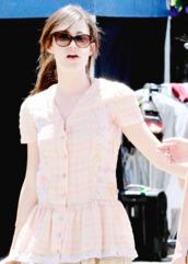 dress,emmy rossum,celebrity