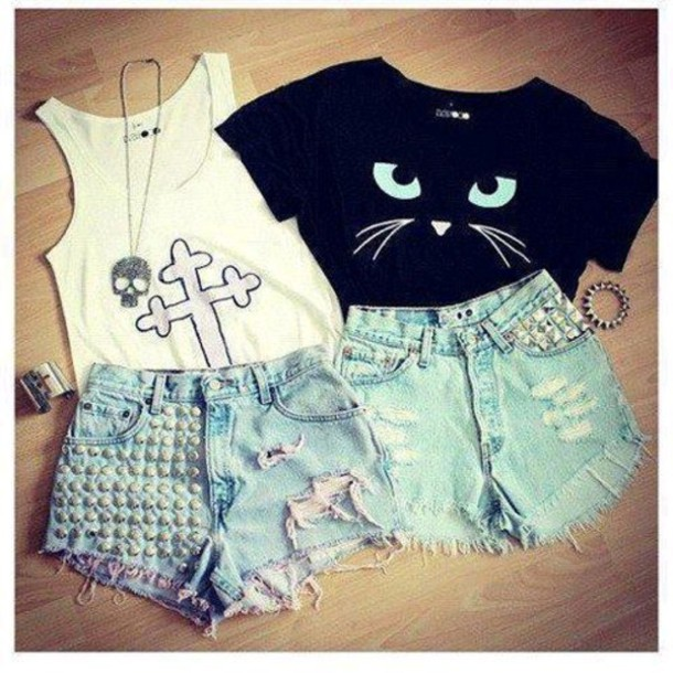 shirt black cats eyes t-shirt
