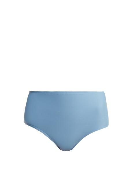 Ephemera bikini high blue swimwear