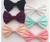 jewels,bows,hair accessory,black bow,pink bow,white bow,red bow,blue bow,mint,pastel bows,mint green bow