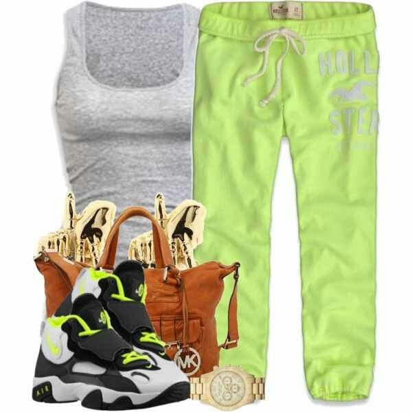 shoes jordans green sweats pants