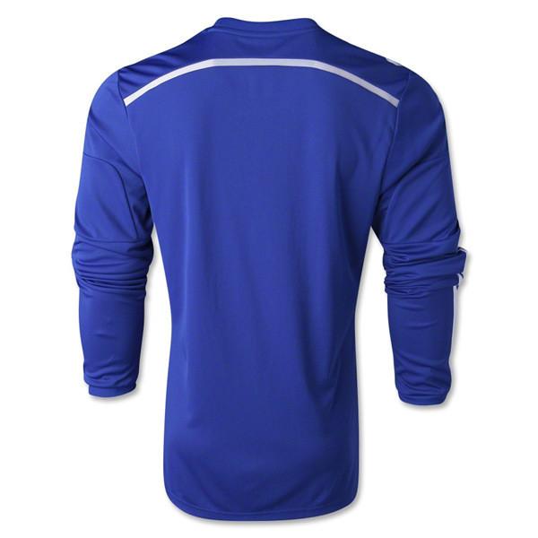 reputable site a3e92 6b443 Aliexpress.com : Buy Free Shipping! 14 15 full sleeve Chelsea home soccer  jerseys & Men's football sportswear & Long sleeve sports T shirts Blue from  ...
